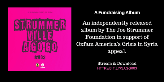 Strummerville A Go-Go #003: Fundraising For Oxfam America