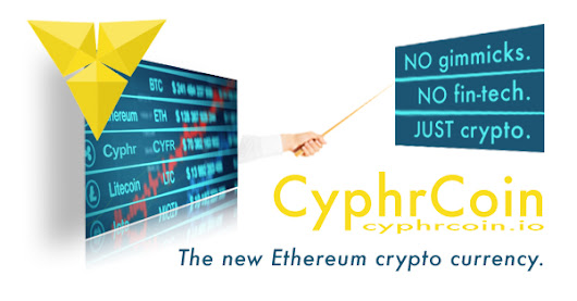CyphrCoin ICO (Initial Coin Offering) - Get 5,000 FREE CyphrCoin!