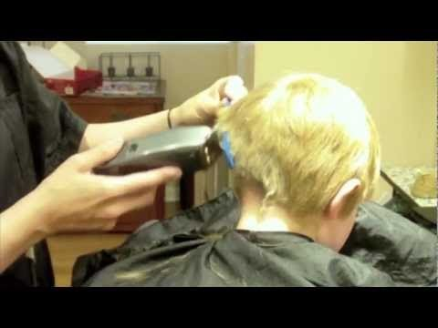hairstylist howto how to do a kids haircut little boys