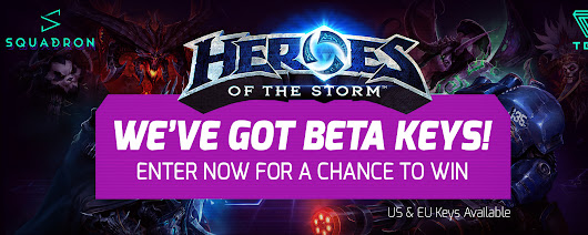 TGN Heroes of the Storm Beta Key Sweepstakes - The Gamers Network
