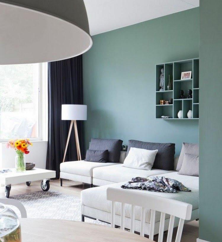 40 Wandfarbe und Wandgestaltung Ideen 2014