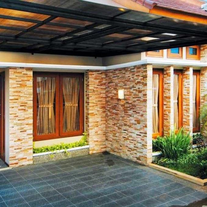 Desain Rumah Minimalis Batu Alam | Ide Rumah Minimalis