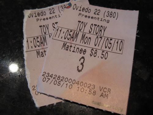 The Boys' First Movie - Toy Story 3