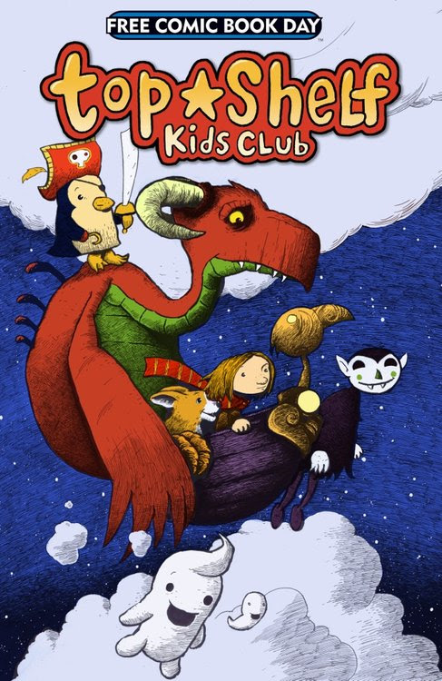 Top Shelf Kids Club -- 2014 (FCBD) / Top Shelf Productions