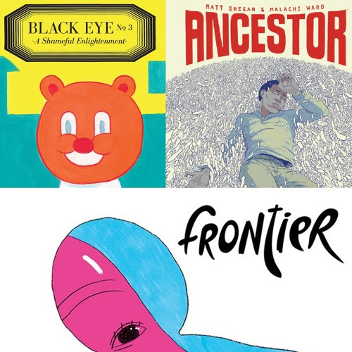 Episode 210: Reviews of Black Eye #3, Ancestor, and Frontier #13 by comicsalternative