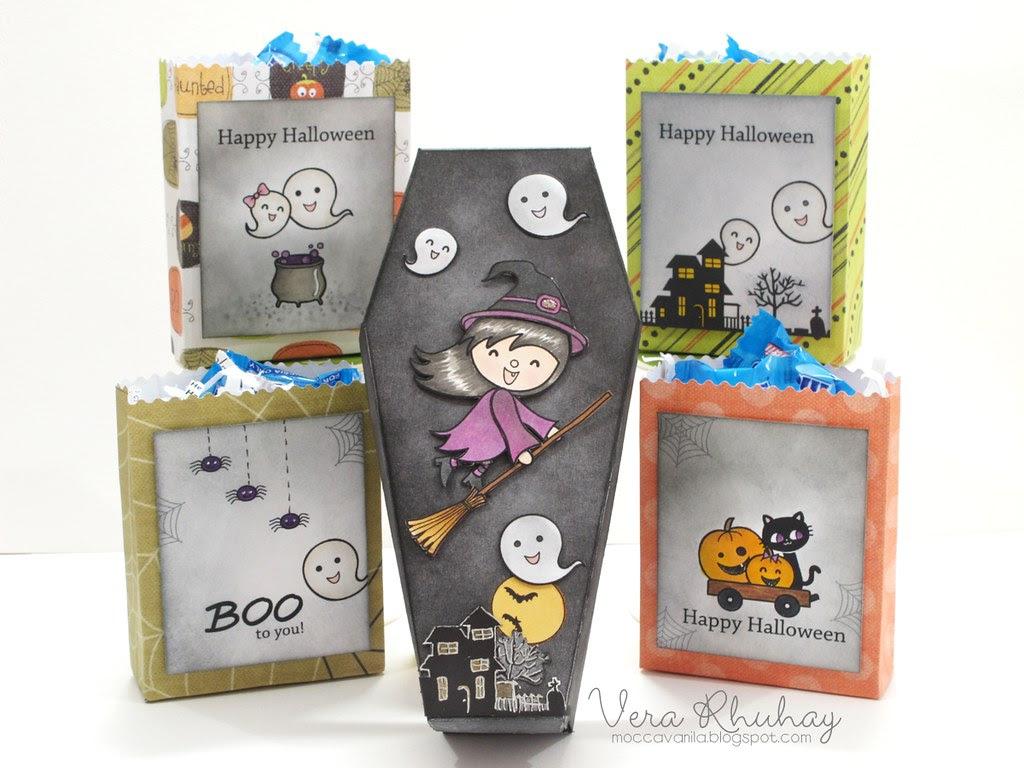 Halloween candy's set