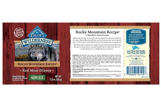 Blue Buffalo recalls type of wet dog food due to potential health risks