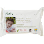 Naty - Sensitive Wipes Unscented