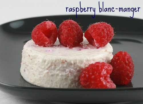 Raspberry Blanc-Manger - Food Librarian