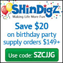 Save 10% on Birthday Party Supplies