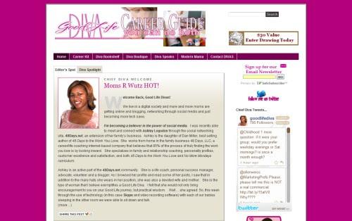 Good Life Diva Career Guide