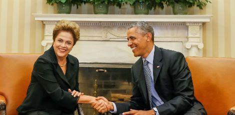 Dilma e Obama concordaram que o gerenciamento da rede deverá ter