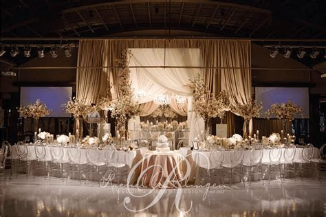 Decorations For Head Table At Wedding Reception