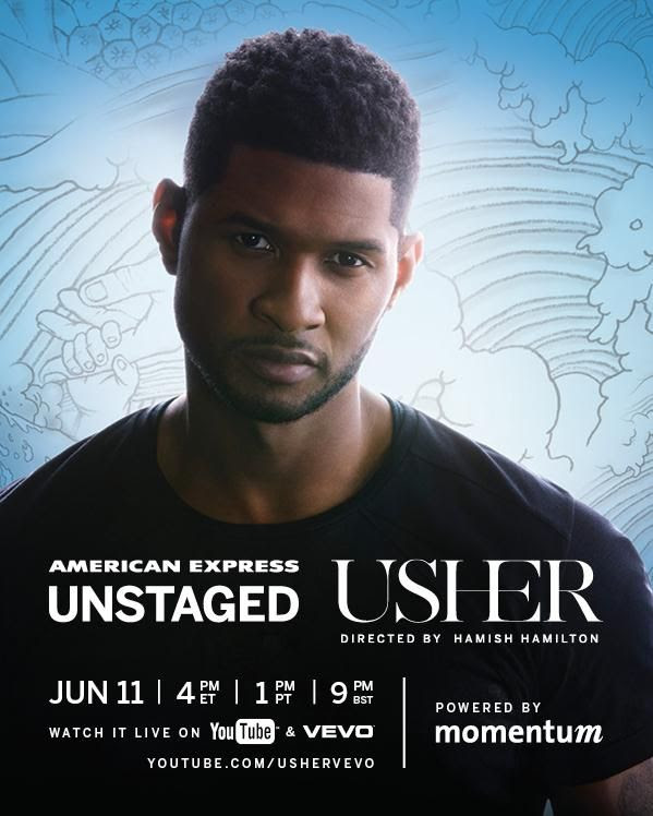 American Express Unstaged, Usher