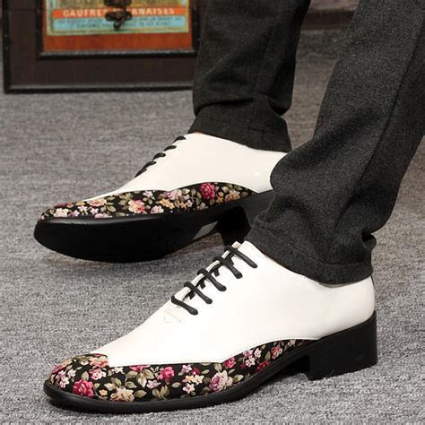 Cheap Japanned Leather Fashion Mens Wedding Shoes Have