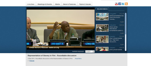 Louis Gossett, Jr. – United Nations Roundtable discussion | Eracism Foundation