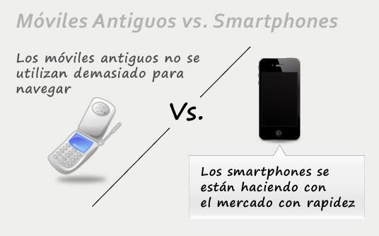 Móviles vs smartphones
