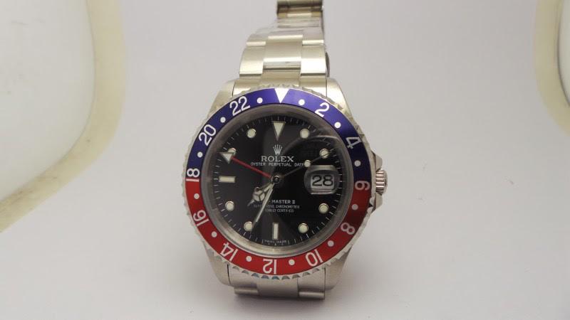 Rolex GMT Master II Blue Red Replica