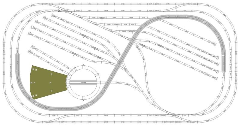 nice model train track layout 9 in the quick