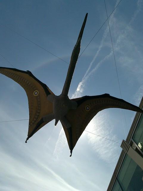 Pterosaurs at Royal Festival Hall