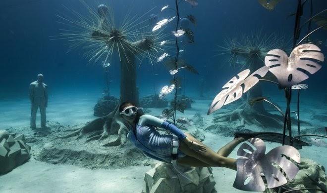 На Кипре открылся MUSAN – первый в своем роде подводный лес для дайверов