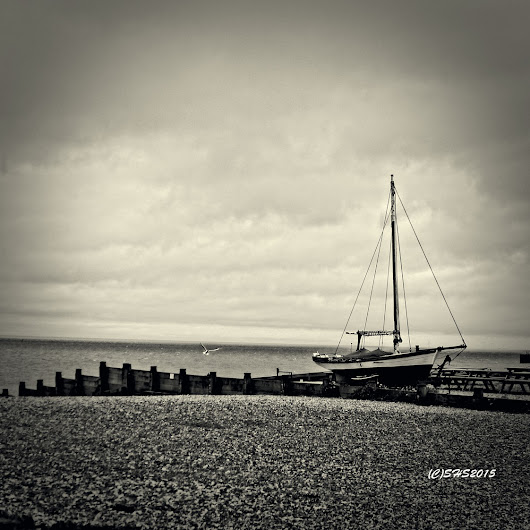 Sail Boat in Whitstable Kent