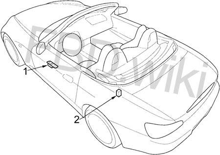 99 09 Honda S2000 Fuse Box Diagram