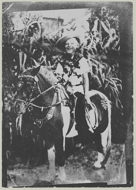 Boy on a pony (enhanced)
