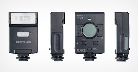 The FlashQ X20 is a Pocket-Sized TTL Flash and LED Video Light