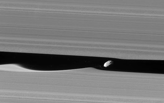 Cassini Has Just Taken the Best Picture of Daphnis Yet!