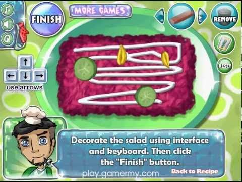 วีดีโอการเล่นเกมทำ Herring Salad สลัดปลาเฮอริ่ง