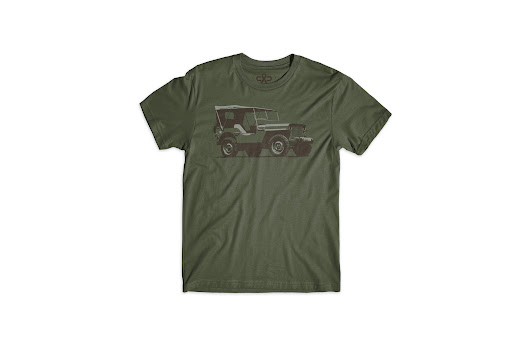 Cure Collection WWII Willys Jeep Tee