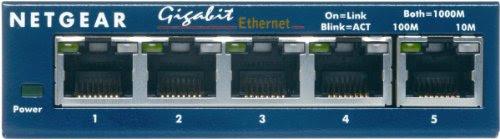 NETGEAR GS105 5ポート ギガビットスイッチングハブ (省電力製品) GS105-300JPS (本体ライフタイム保証)