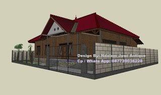 atap rumah limasan minimalis - desain dekorasi rumah