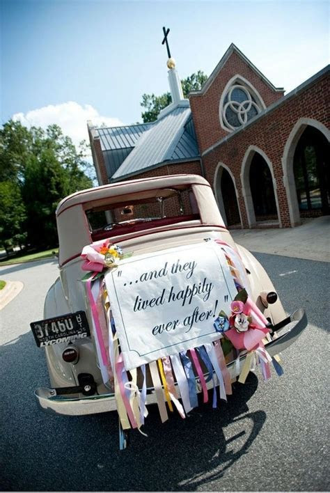 34 best Just married! images on Pinterest   Wedding cars