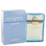Versace Man by Versace Eau Fraiche Eau De Toilette Spray (Blue) 3.4 oz for Men