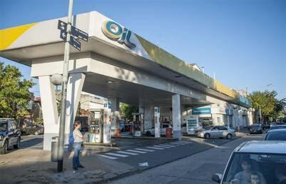 Estación de servicio Oil. Foto Pedro Lázaro Fernández
