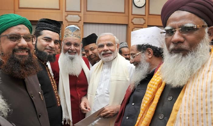 Image result for modi with muslims