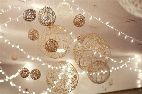 DIY String Balls   DIY Winter Wedding   Pinterest