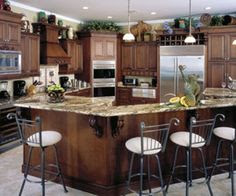 Decorating ideas for above the kitchen cabinets.. | Home Decor