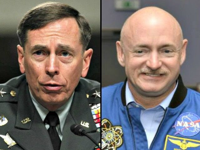 David Petraeus and Mark Kelly AP Photos