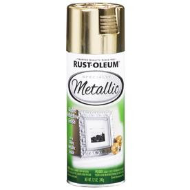 Rust-Oleum Metallic Gold Spray Paint reviews