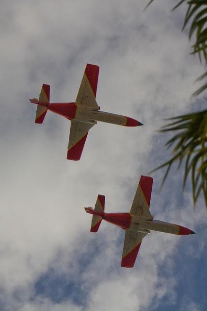Aviones militares C-101 -AVIOJET de San Javier
