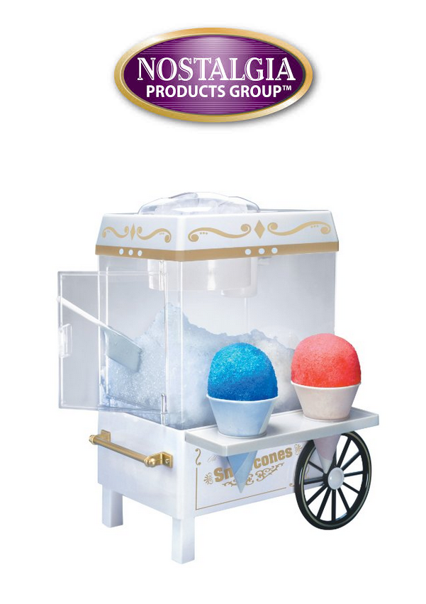 Enter the Nostalgia Old Fashioned Snow Cone Maker Giveaway. Ends 7/8.