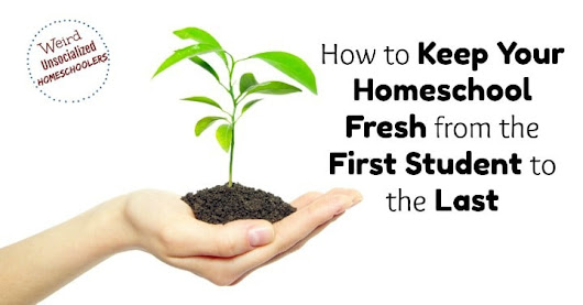 How to Keep Your Homeschool Fresh from the First Student to the Last