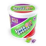 Super Bubble 3 Flavors Bubble Gum in Bucket - 300 per pack -- 8