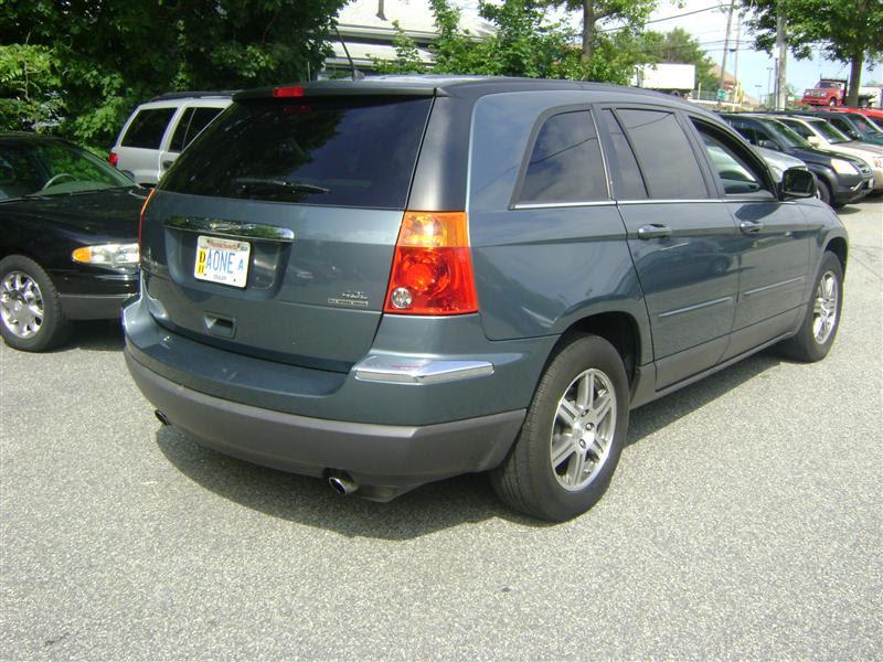 2007 Chrysler Pacifica Touring For Sale Salem Ma 6 Cylinderteal Www Cartrucktrader Com Id