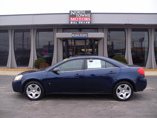 Used 2008 Pontiac G6 for Sale in Defiance OH 43512 Northtowne Motors