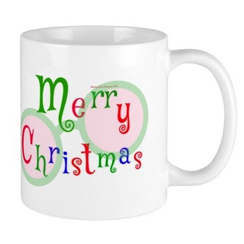 2 Merry Christmas Mugs
