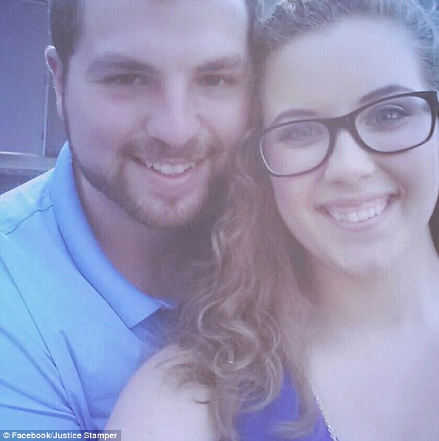 Justice Stamper was severely injured and suffered from amnesia following the crash in Tennesse last August, as doctors pinpointed she cannot remember anything from five weeks before her first nuptials